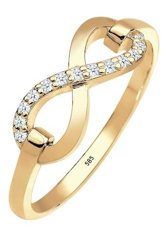 Elli Premium Diamantring »Infinity - Unendlichkeitsschleife, 0603822714«, mit... kaufen