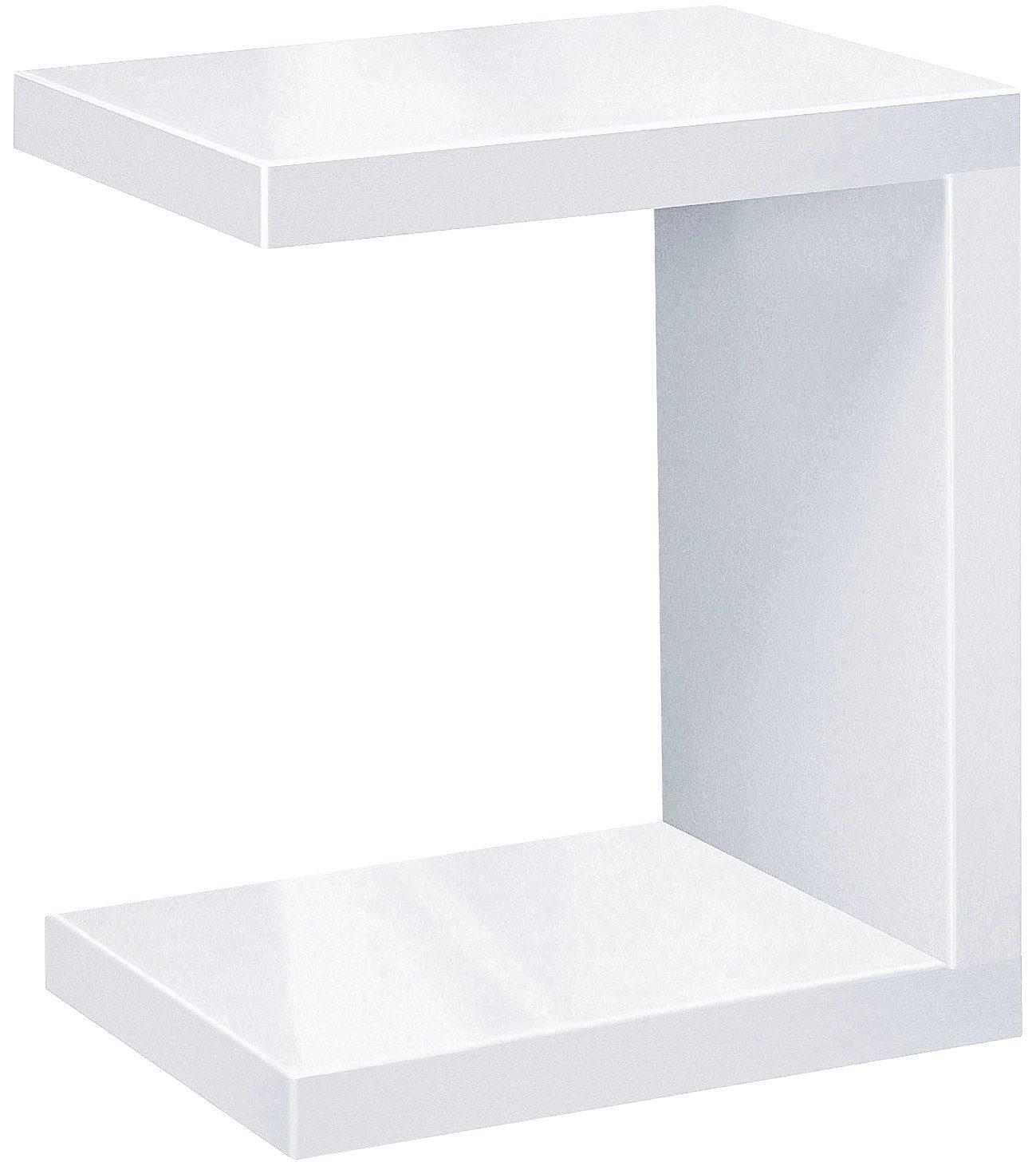 INOSIGN Beistelltisch, U-Form weiß Couchtische eckig Tische Beistelltisch