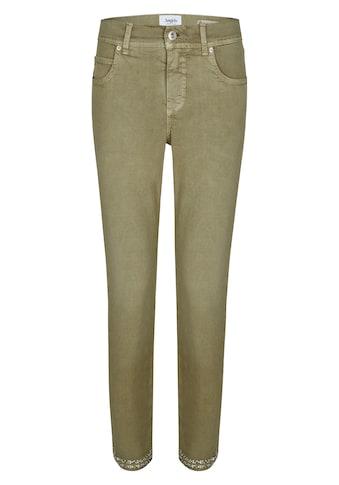 ANGELS Ankle - Jeans ,Ornella Fancy' mit Glitzerapplikationen am Saum kaufen