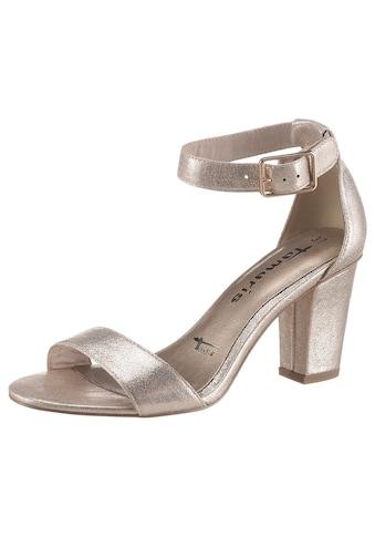 Tamaris Sandalette »CALLIE«, im schönen Metallic-Look kaufen