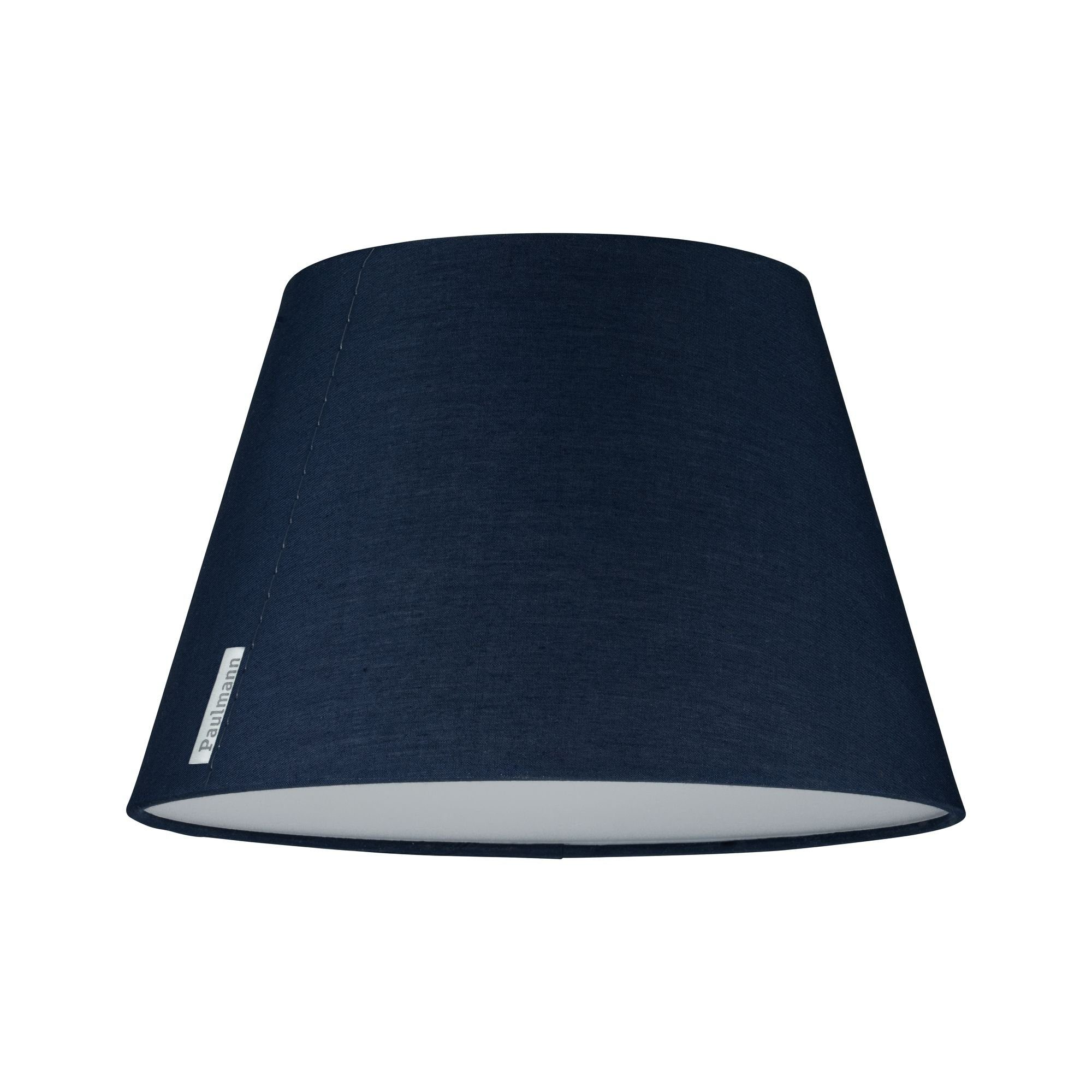 Paulmann LED Deckenleuchte Mea Blau mit Stoffschirm Durchmesser 25 cm max. 20W E14, E14, 1 St.