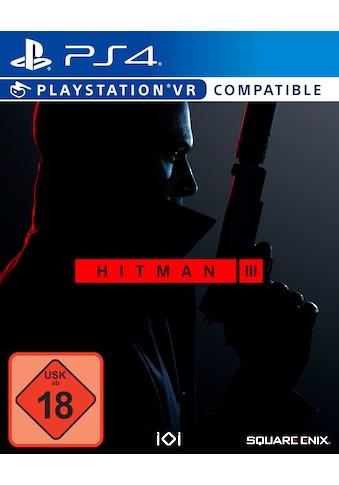 SquareEnix Spiel »HITMAN 3«, PlayStation 4 kaufen