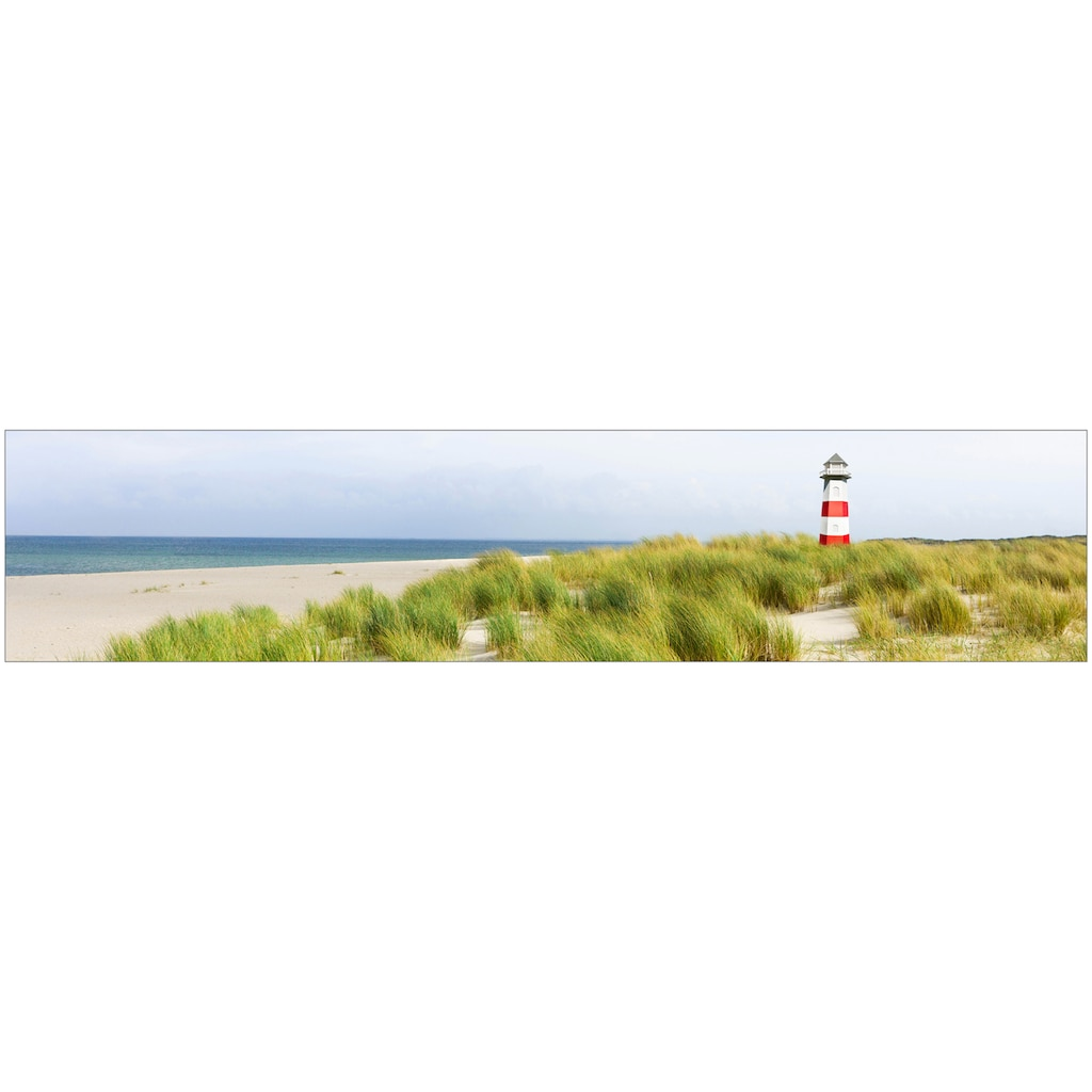 MySpotti Küchenrückwand »fixy Nordseestrand«, selbstklebende und flexible Küchenrückwand-Folie