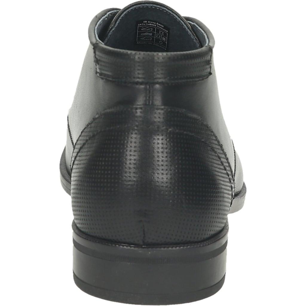 Mercedes Schnürstiefelette »Leder«