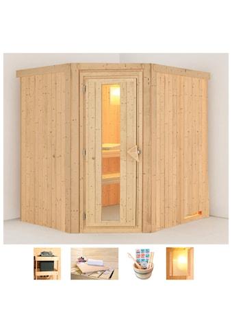 KARIBU Sauna »Siirin«, 196x170x198 cm, ohne Ofen, Energiespartür kaufen