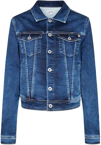Pepe Jeans Jeansjacke »CORE JACKET«, mit aufgesetzten Brusttaschen zum Verschließen kaufen