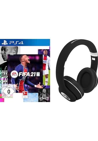 Electronic Arts Spiel »FIFA 21«, PlayStation 4, inkl. BVB Headset schwarz kaufen