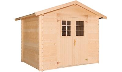 Kiehn - Holz Gartenhaus »Mellenberg 1«, BxT: 309x223 cm, inkl. Fußboden kaufen