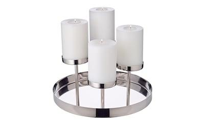 EDZARD Kerzenleuchter »Marabella«, für 4 Stumpenkerzen kaufen