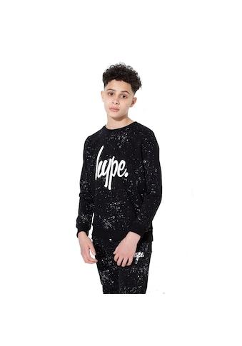 Hype Sweatshirt »Jungen Aop mit Sprenkel-Muster, Rundhalsausschnitt« kaufen