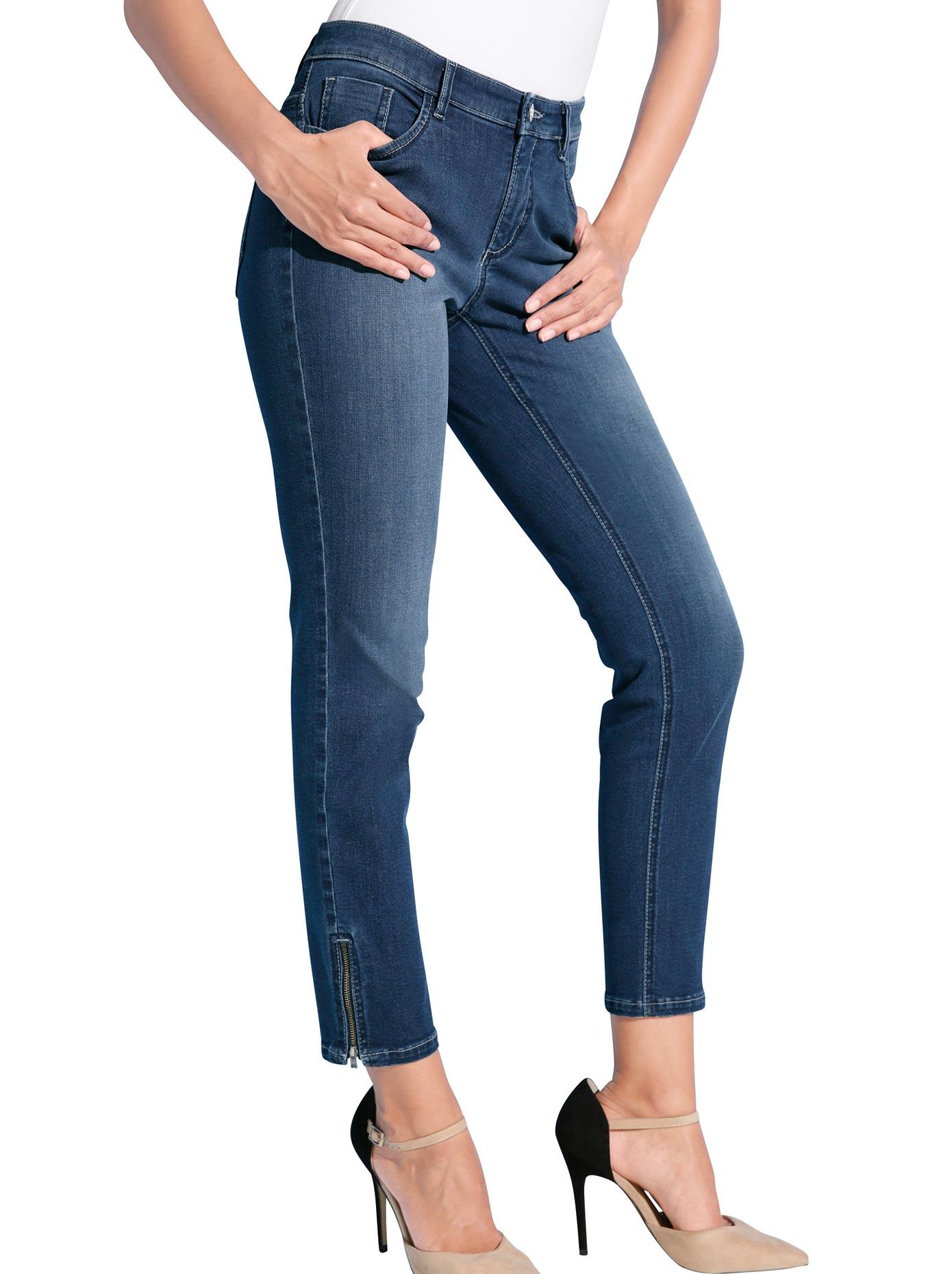 Ascari Jeans in 5-Pocket-Form | Bekleidung > Jeans > 5-Pocket-Jeans | Blau | Jeans | Ascari