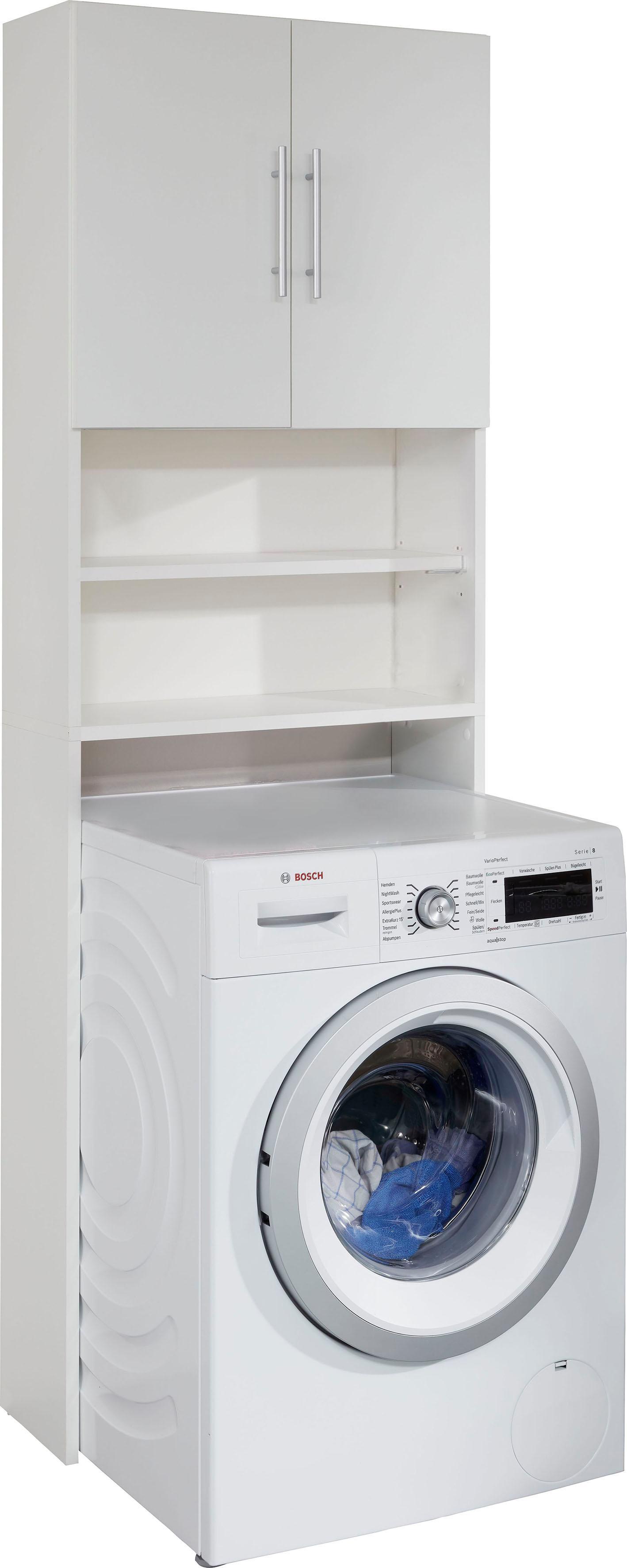 trendteam Waschmaschinenumbauschrank Basix | Küche und Esszimmer > Küchenschränke > Umbauschränke | Weiß | Melamin | Trendteam
