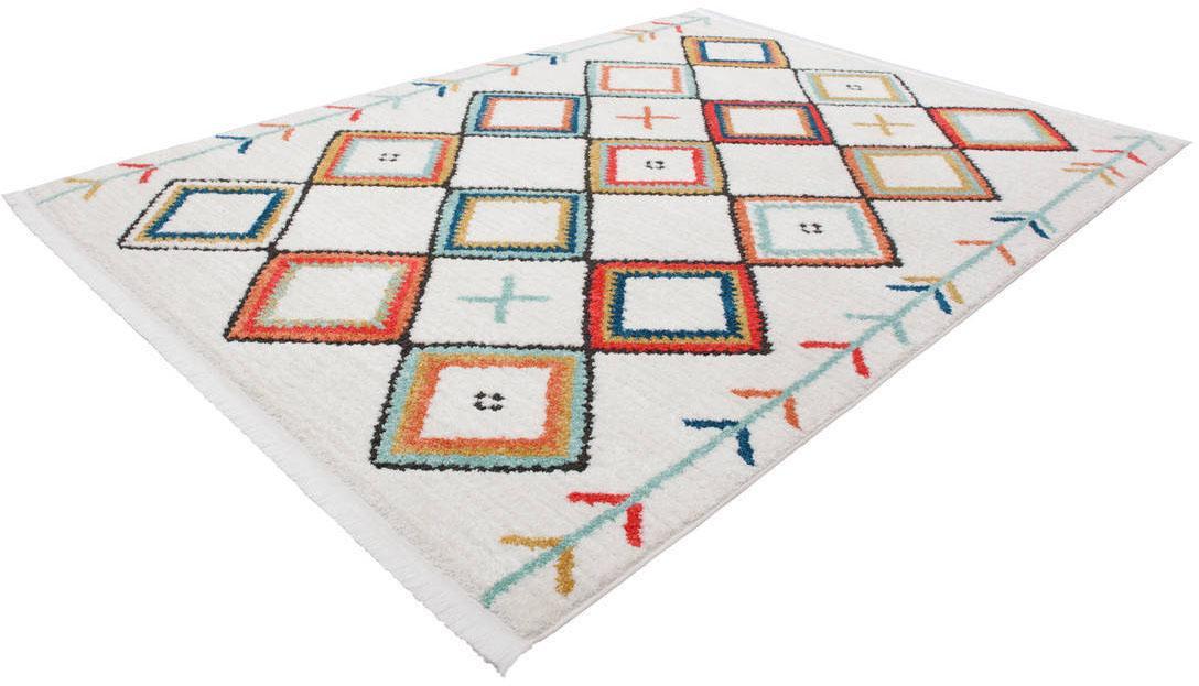 Teppich Agadir 210 Kayoom rechteckig Höhe 23 mm maschinell gewebt