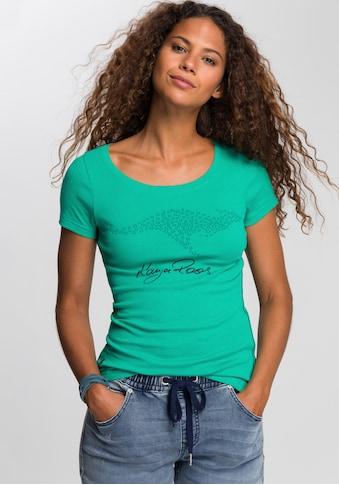 KangaROOS T-Shirt, mit großem Label-Druck kaufen