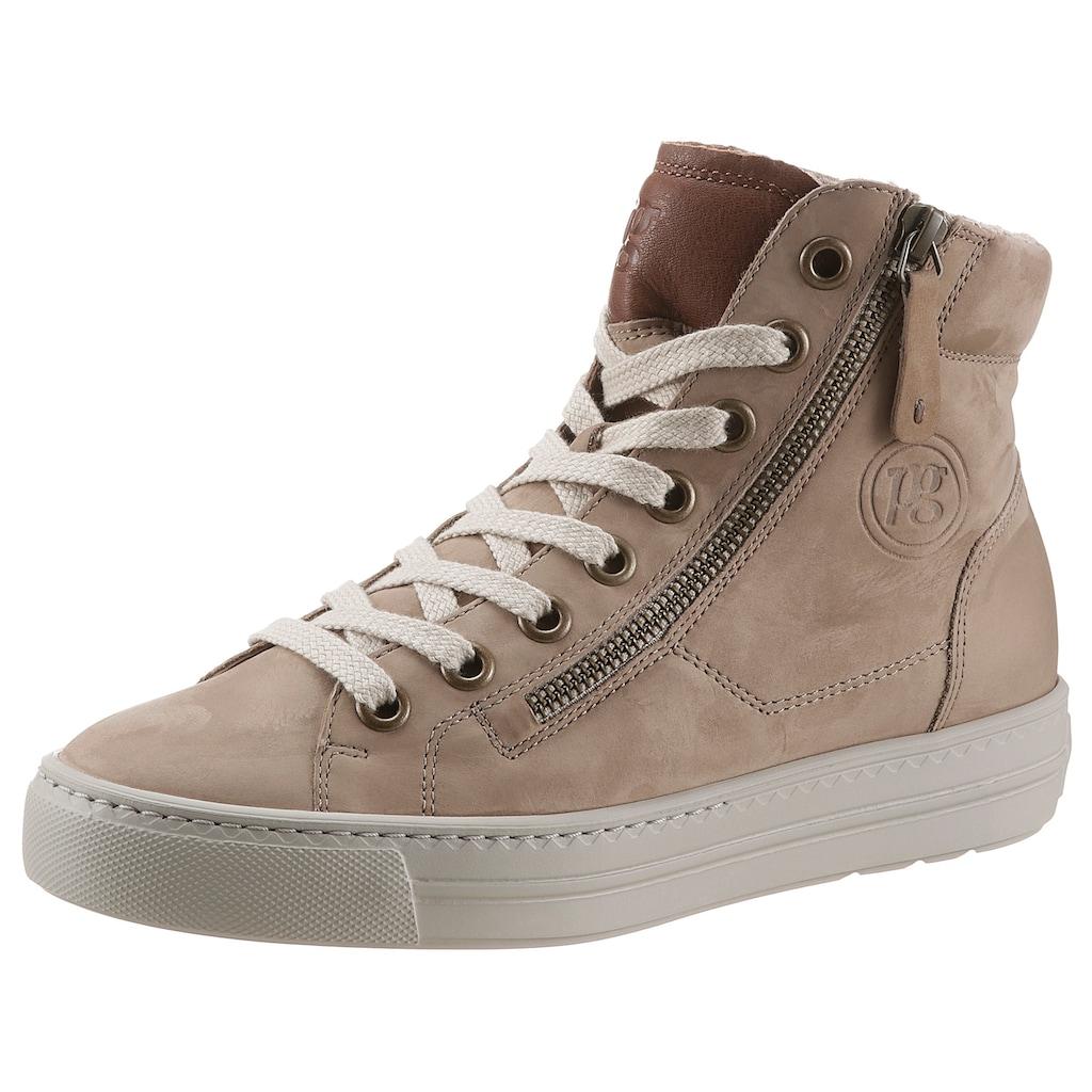 Paul Green Sneaker, mit zusätzlichem Außenreißverschluss