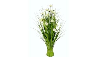 I.GE.A. Kunstgras »Grasbund«, mit feinen Ranunkleblüten kaufen