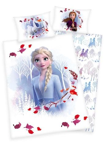 Walt Disney Babybettwäsche »Disney´s Eiskönigin 2«, mit Elsa, Anna und Olaf kaufen