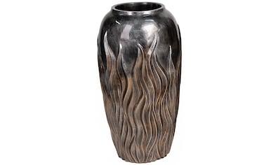Casablanca by Gilde Pflanzkübel »Pflanzkübel Flame, bronzefarben«, (1 St.),... kaufen