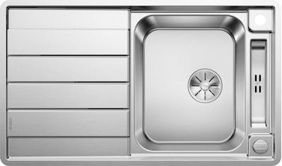 BLANCO Küchenspüle »AXIS III 45 S - IF«, benötigte Unterschrankbreite: 45 cm kaufen