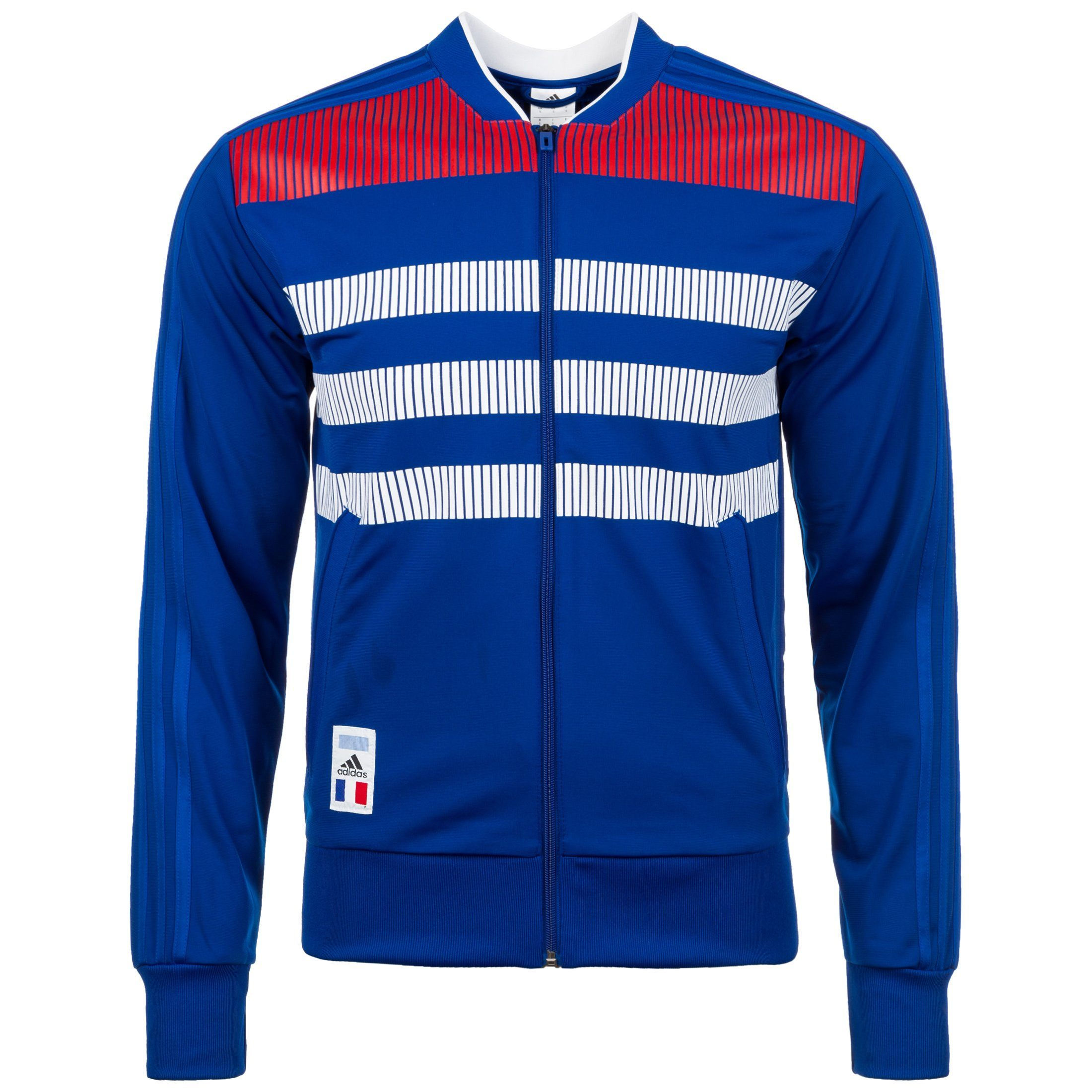 adidas Performance Trainingsjacke »France Country Identity«   Sportbekleidung > Sportjacken > Trainingsjacken   Blau   Polyester   ADIDAS PERFORMANCE