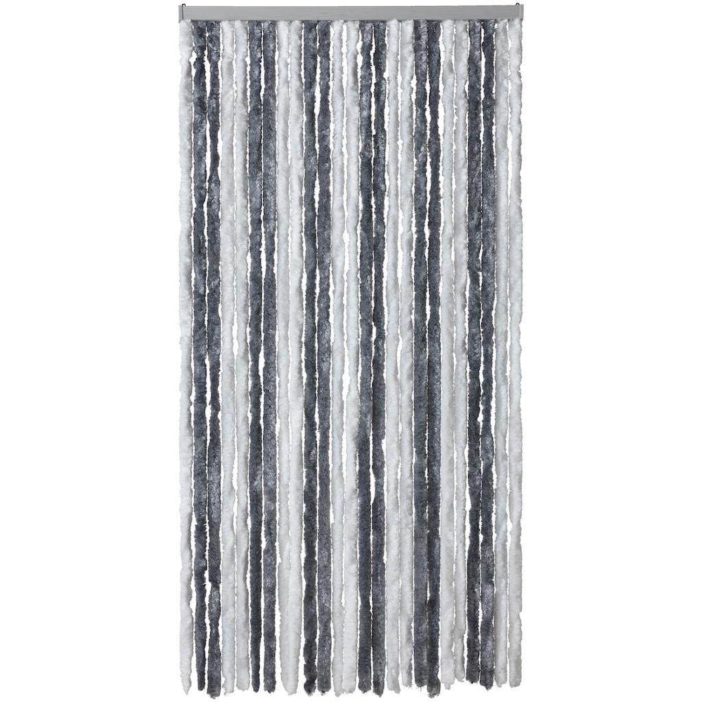 EXPLORER Insektenschutz-Vorhang, grau/weiß