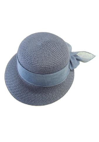 Chaplino Strohhut, mit farblich passendem Hutband kaufen