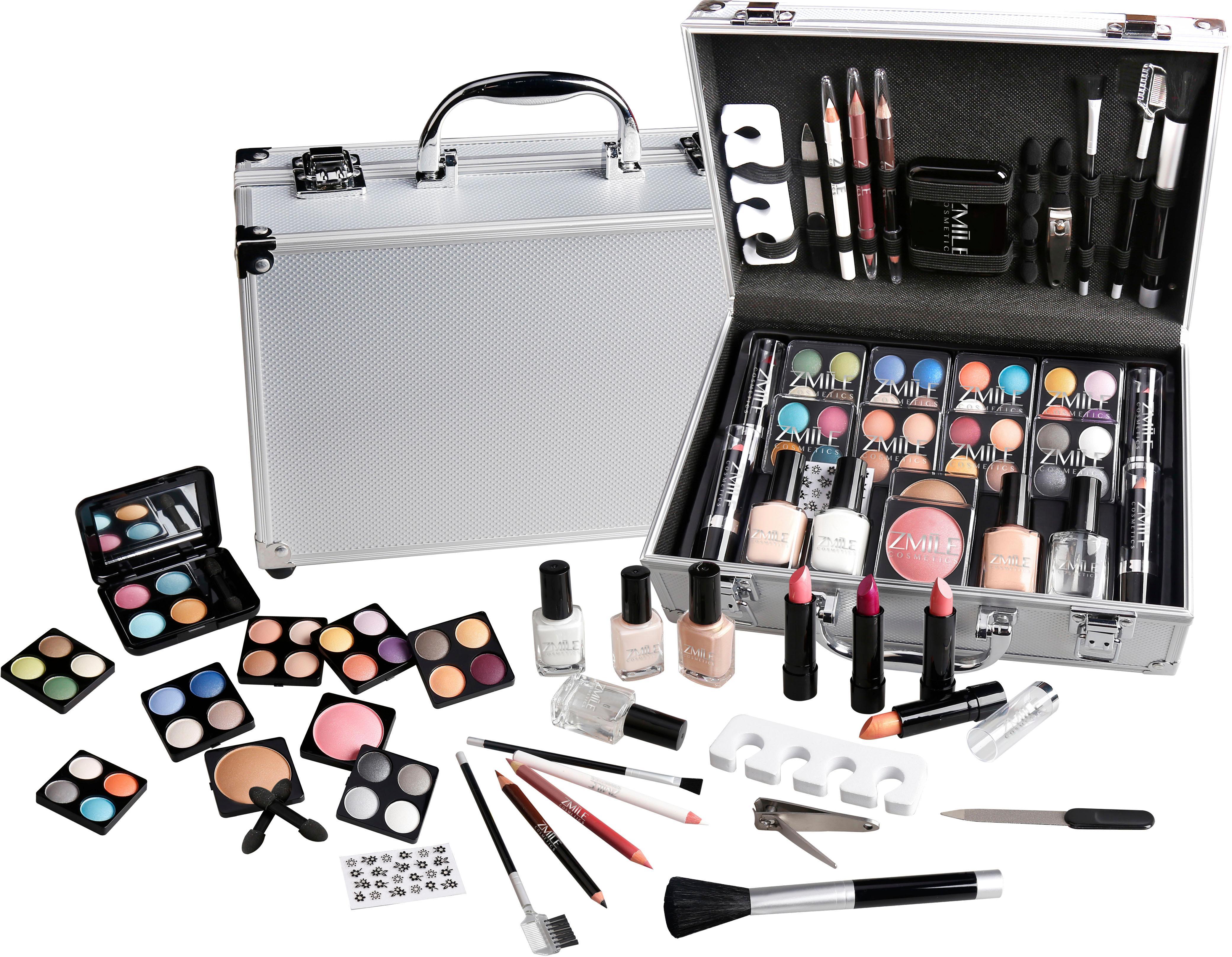 ZMILE COSMETICS Schmink-Koffer French Manicure  57-tlg.   Taschen > Koffer & Trolleys   Zmile Cosmetics