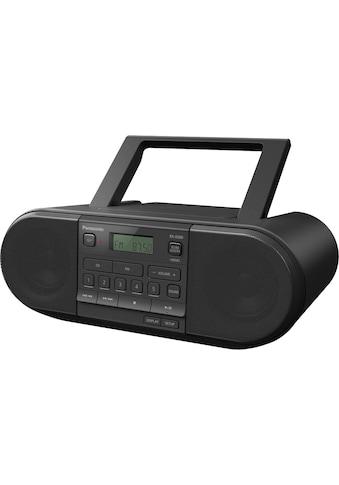 Panasonic Boombox »RX-D500EG-K CD-«, (FM-Tuner-UKW mit RDS 20 W) kaufen