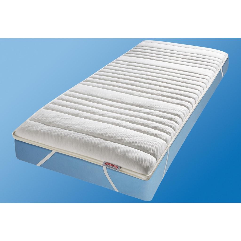 Schlaf-Gut Topper »Schlaf-Gut Komfort TS«, (1 St.), geprüfte Qualität, wirksam gegen Milben!