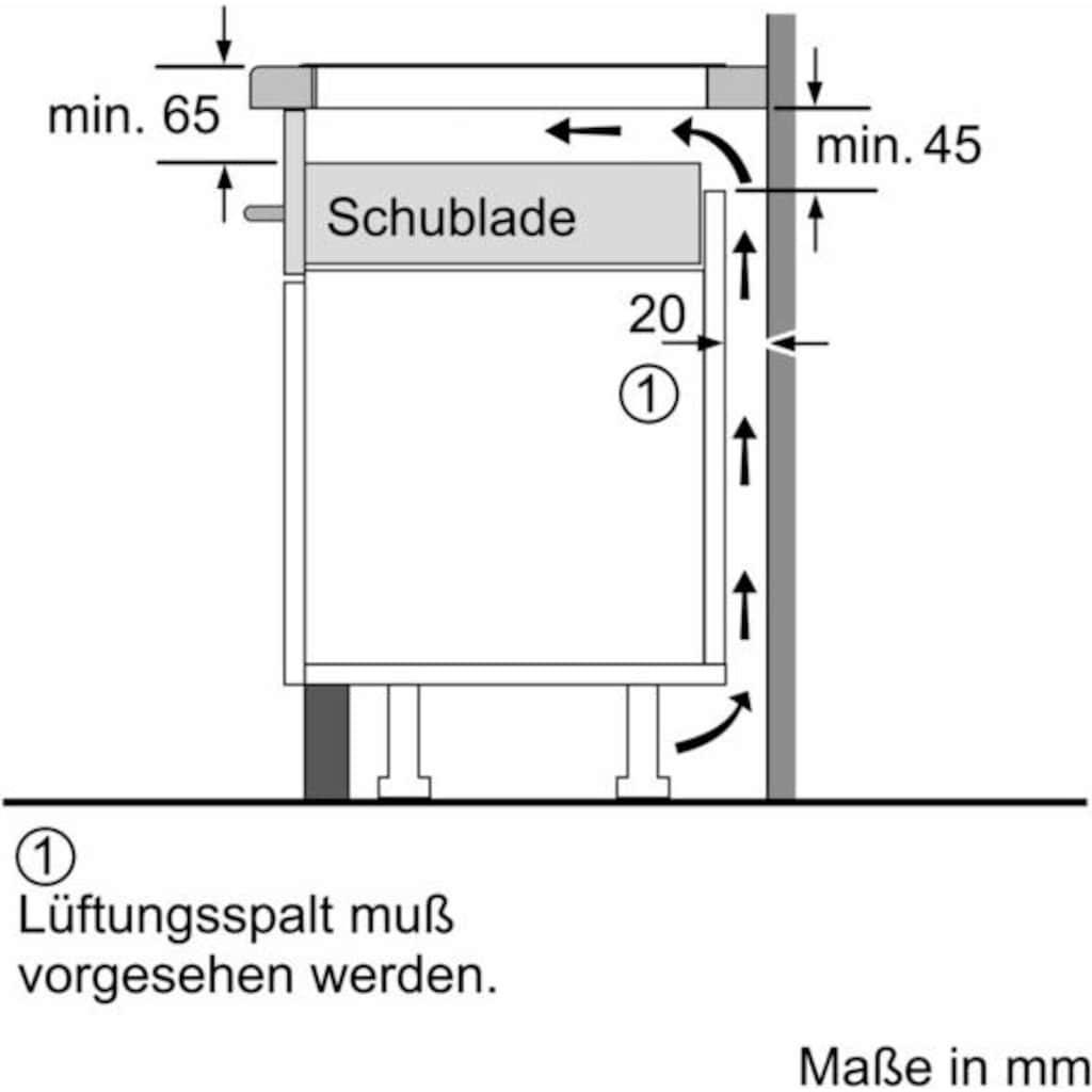 SIEMENS Induktions-Kochfeld von SCHOTT CERAN®, EH875FFB1E, mit Warmhaltezone