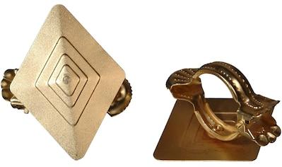 Liedeco Dekoklammer »Rhombus«, (Packung, 2 St.), für Gardinen, Vorhänge kaufen
