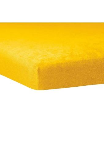 TRAUMSCHLAF Spannbettlaken »Flausch Biber Boxspring Topper«, warme weiche Qualität kaufen