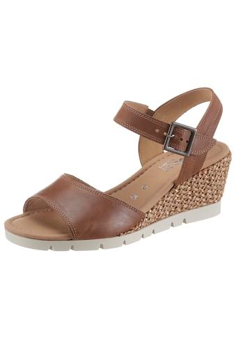 Gabor Sandalette »TUNIS«, in Weite G (=weit) kaufen