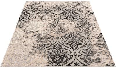DELAVITA Teppich »Auron«, rechteckig, 12 mm Höhe, mit Glanzfaser, Wohnzimmer kaufen