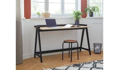COUCH♥ Schreibtisch »Neuer Kollege«, aus massivem Kiefernholz, A-Gestell, in... kaufen