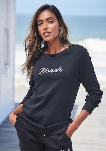 Bench. Sweatshirt, mit Logostickerei kaufen