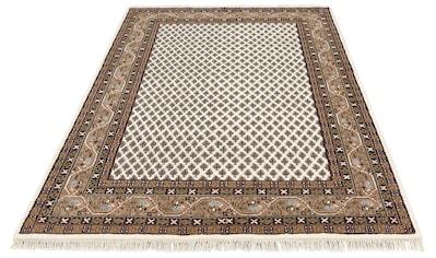 Wollteppich, »Javid Mir«, DELAVITA, rechteckig, Höhe 16 mm, manuell geknüpft kaufen