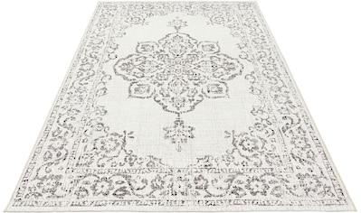 bougari Teppich »Tilos«, rechteckig, 8 mm Höhe, Vintage Design, In- und Outdoor... kaufen
