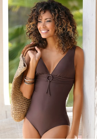 s.Oliver Beachwear Badeanzug »Rome«, mit Zierring kaufen