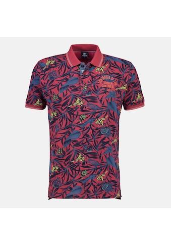 LERROS Poloshirt, mit floralem Alloverprint kaufen