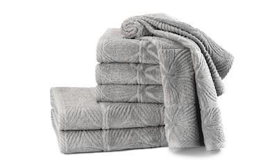 Döhler Handtuch Set »Agatha 6-teilig«, Set kaufen