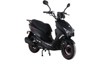 Alpha Motors Motorroller »Speedstar«, 50 cm³, 45 km/h, Euro 5, 3,0 PS, mattschwarz kaufen