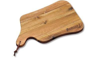 KESPER for kitchen & home Schneidebrett »Brotzeit«, Gr. 35 x 22 cm kaufen