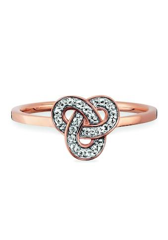 CAÏ Fingerring »925/- Sterling Silber rotvergoldet Topas« kaufen
