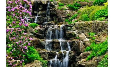 Papermoon Fototapete »Cascading Waterfall« kaufen