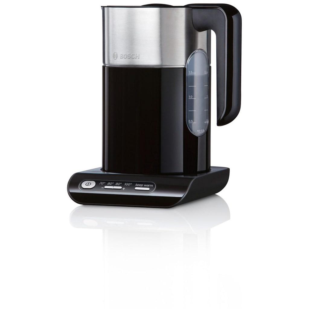 BOSCH Wasserkocher »Styline TWK8613P«, 1,5 l, 2400 W