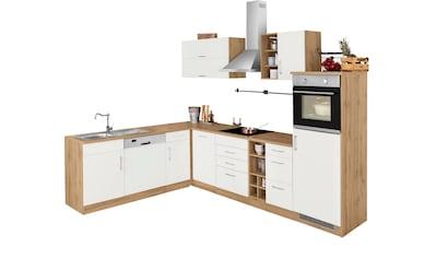 HELD MÖBEL Winkelküche »Colmar«, ohne E-Geräte, Stellbreite 210/300 cm kaufen