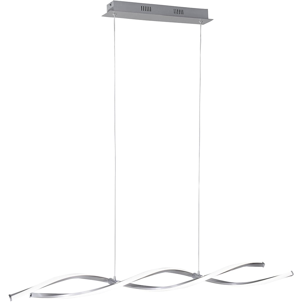 Paul Neuhaus Pendelleuchte »POLINA«, LED-Board, Warmweiß, Hängeleuchte, Pendelleuchte mit festverbauten LED-Leuchtmitteln, stufenlos dimmbar über Wandschalter, warmweiße Lichtfarbe