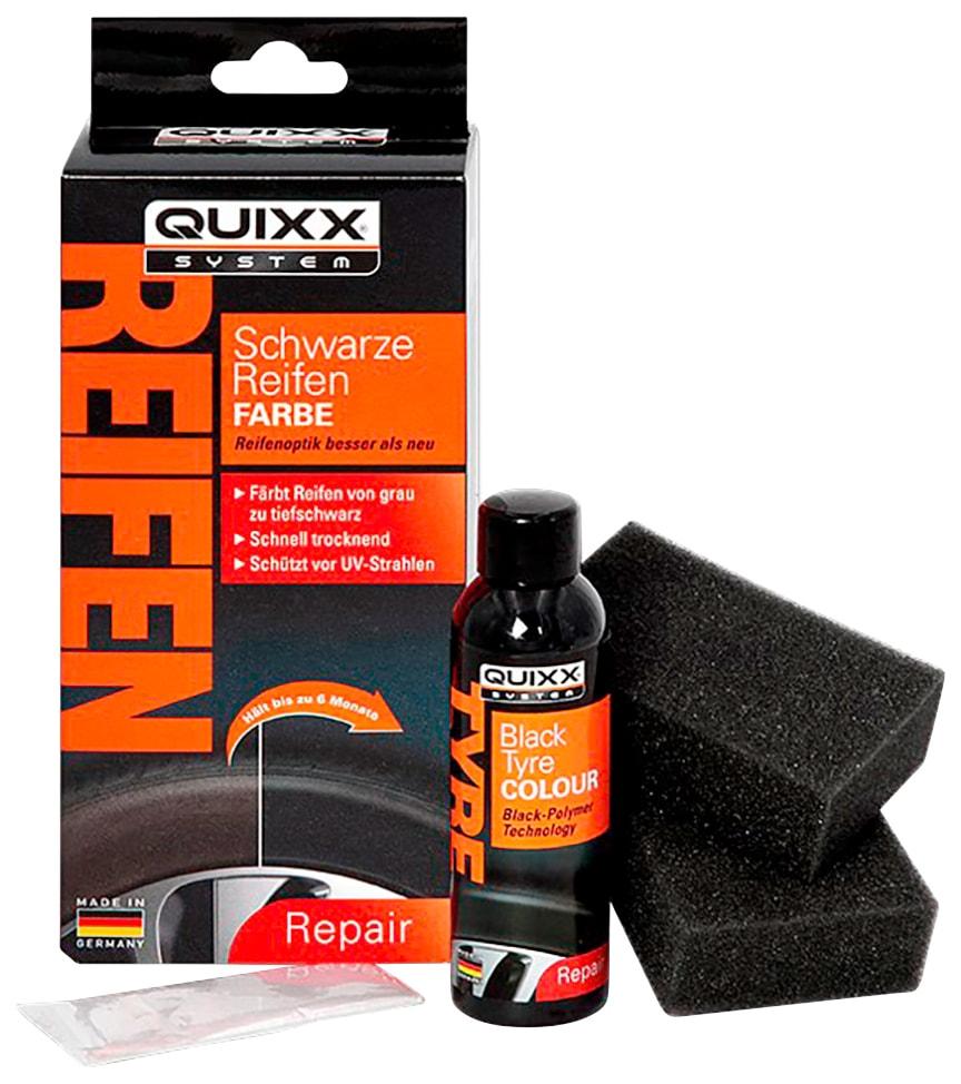 QUIXX Reifen-Reparaturset, für Reifen schwarz Autopflege Autozubehör Reifen-Reparaturset