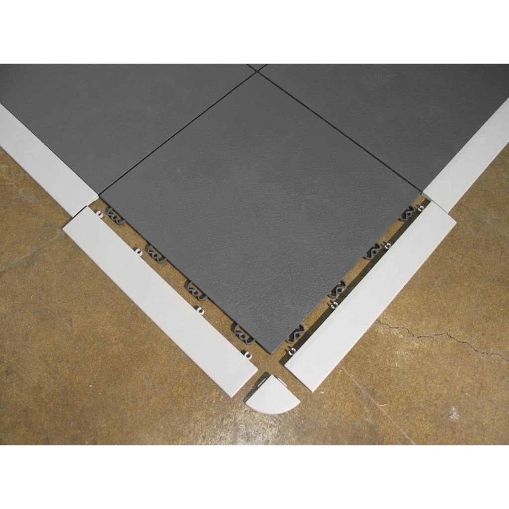 Bergo Flooring Klickfliesen-Abschlussleiste, Eckabschlüsse Elite